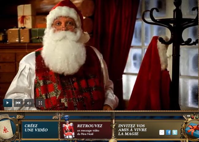 pere noel qui parle Un message vidéo du Père Noël   Paradoxe Temporel pere noel qui parle