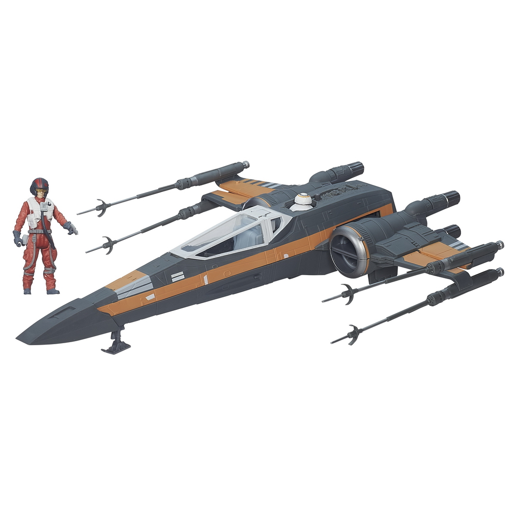 STAR_WARS_TFA_POE_DAMERON'S_X-WING_Vehicle