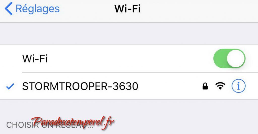 wifi Robot Star Wars First Order Stormtrooper de Ubtech