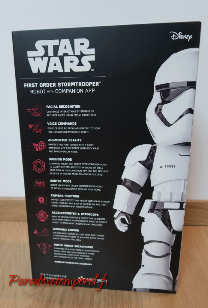 Robot Star Wars First Order Stormtrooper de Ubtech
