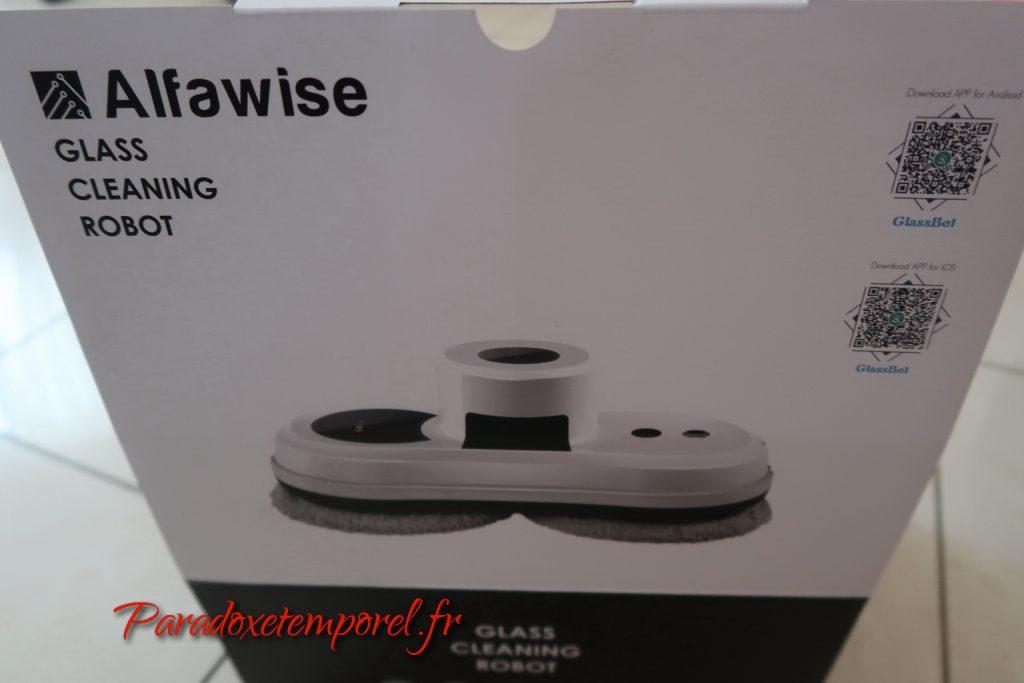 Test robot lave vitre Alfawise S60