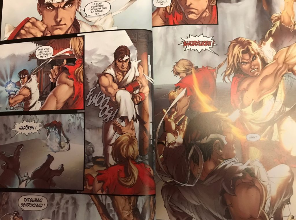 Street Fighter Génération Alpha en comics tome 1