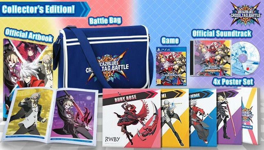 BLAZBLUE CROSS TAG BATTLE PS4 Edition Collector