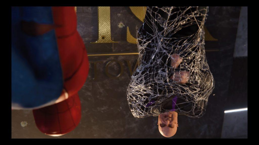 Test Marvel's spider-man