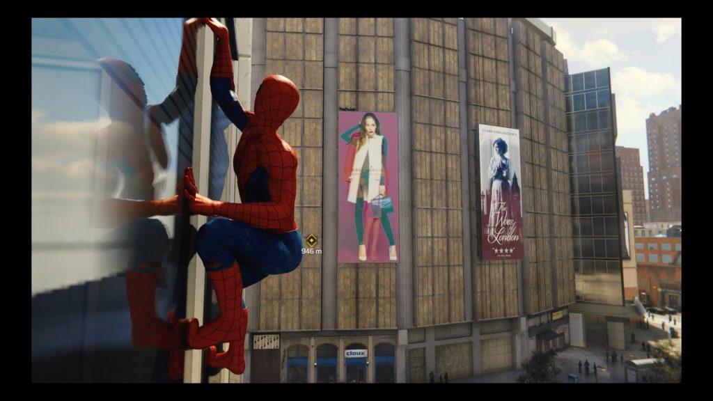 Test Marvel's spider-man ps4 reflet