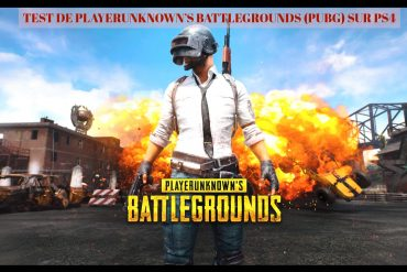 avis PLAYERUNKNOWN'S BATTLEGROUNDS PS4