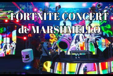 Le concert de MARSHMELLO sur Fortniite