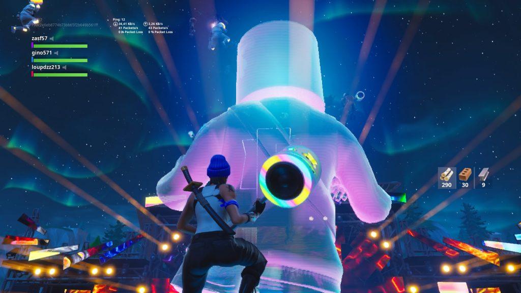 Le concert de MARSHMELLO sur Fortnite