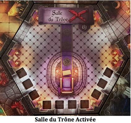 Black Rose Wars salle du trône