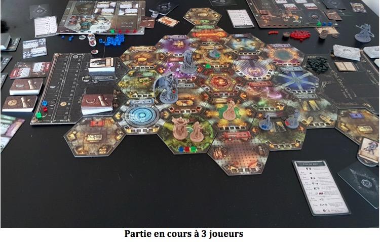 Black Rose Wars plateau à 3 joueurs