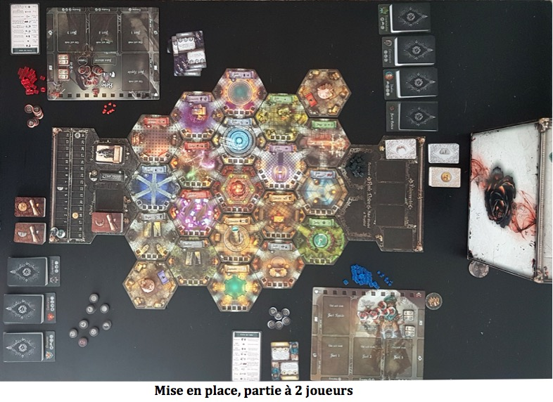 Black Rose Wars plateau de jeu