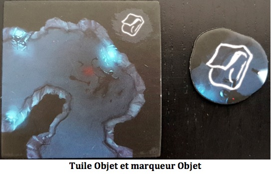 carte marqueur objet Sub Terra  Investigation