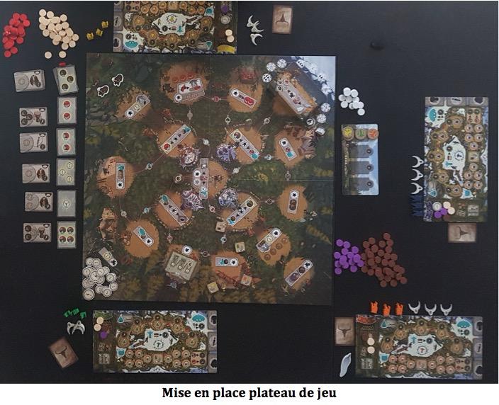 Neta-Tanka plateau de jeu