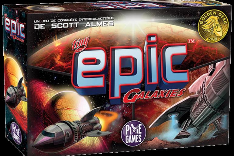 Tiny Epic Galaxies jeu