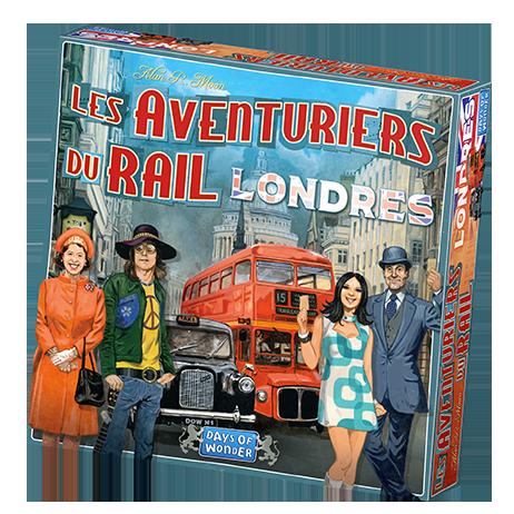 Les aventuriers du Rail Londres jeu