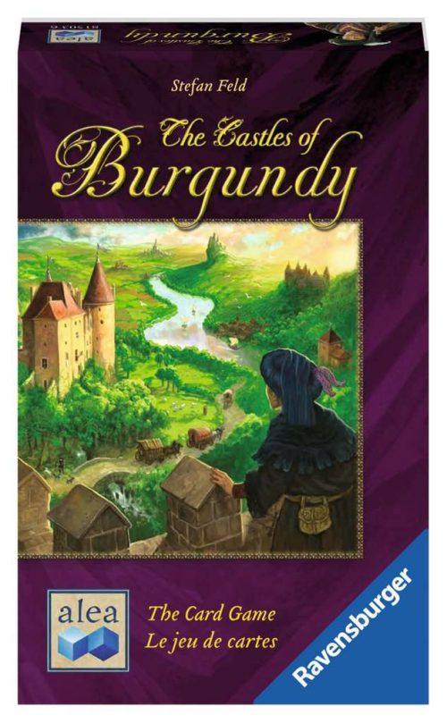 Les Châteaux de Bourgogne le jeu de cartes