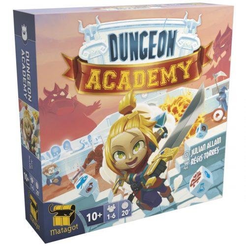 Dungeon Academy jeu