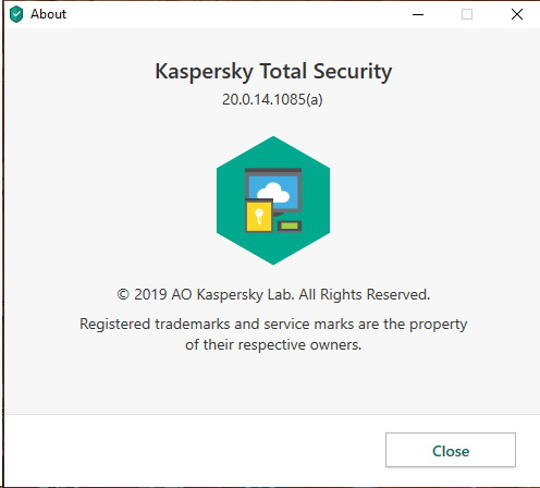 Version de Kaspersky Total Security 2020