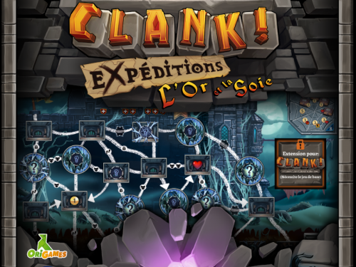Test de Clank ! expeditions l'or et la soie
