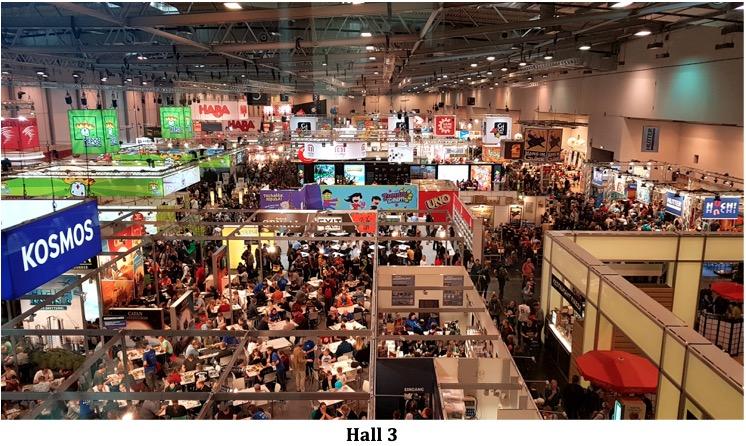Hall 3 à Essen spiel 2019