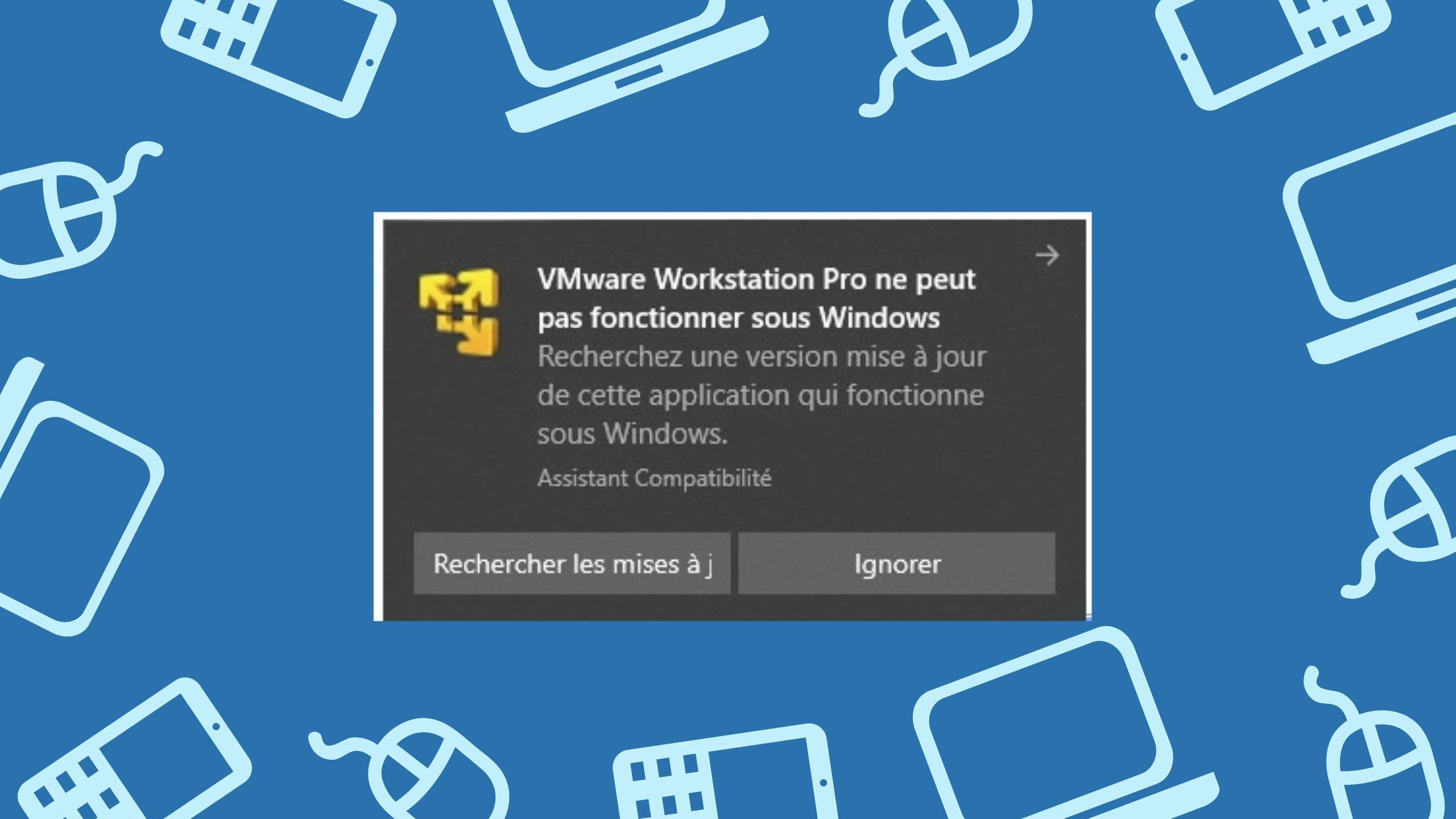 VMware Workstation 14 Windows 10 version 1903