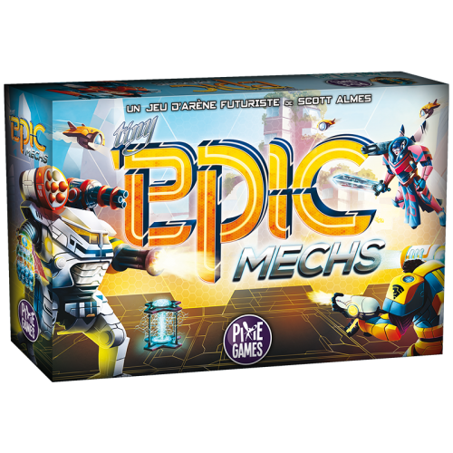 Tiny Epic Mechs jeu