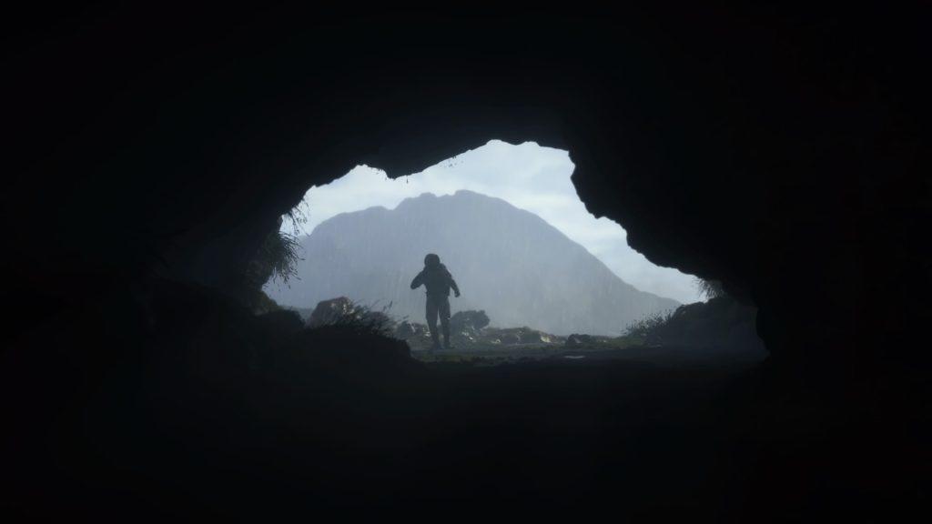 Grotte dans Death Stranding