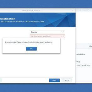 DSM synology avec hyper backup et amazon drive
