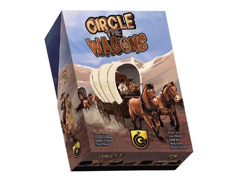 Circle The Wagons jeu