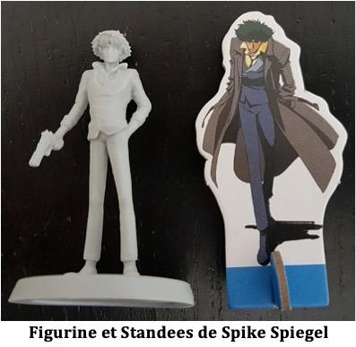 cowboy bebop space serenade figurine de Spike Spiegel