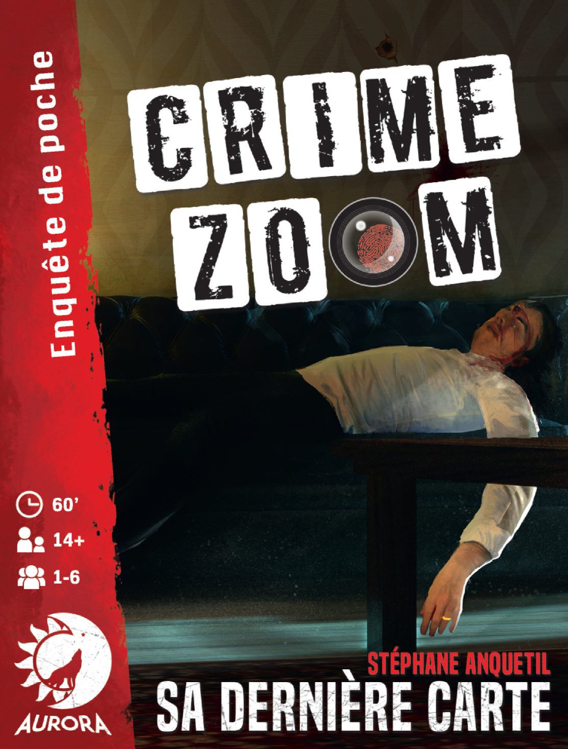 Crime Zoom Sa Dernière Carte jeu