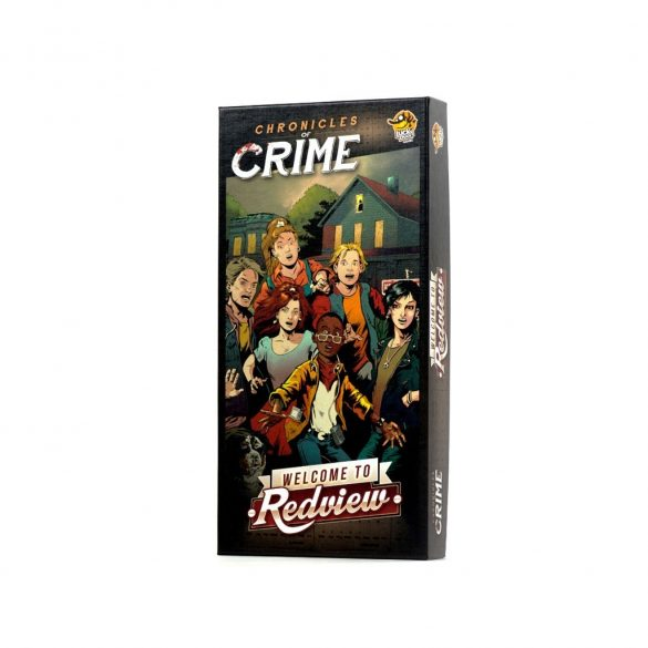 Chronicles Of Crime Welcome To Redview jeu