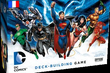 DC Comics Deck-Building jeu
