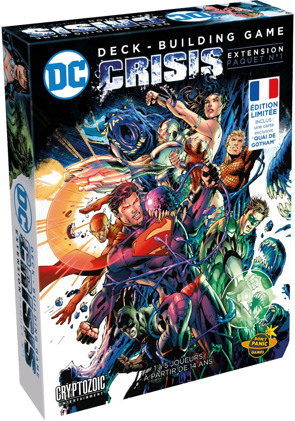 DC Comics Crisis jeu