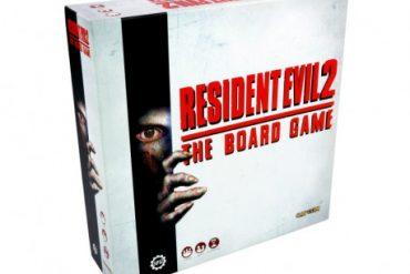 Resident Evil 2 le jeu de plateau jeu