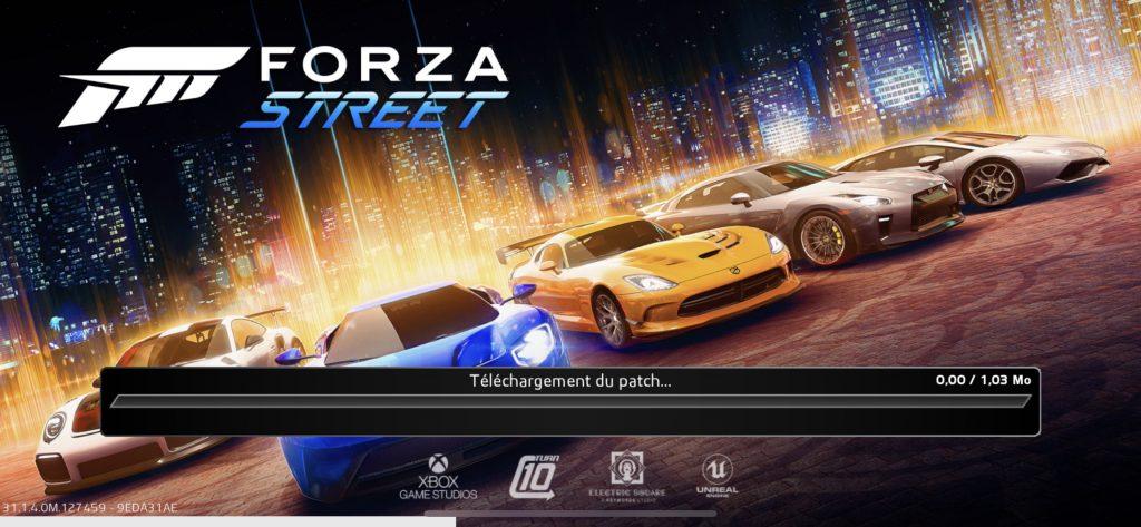 Patch Forza street IOS