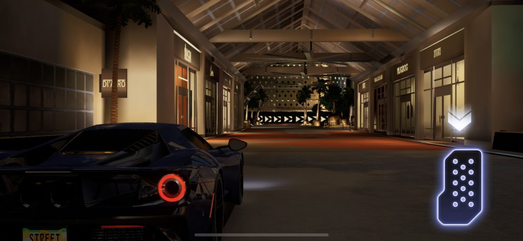 Effet de lumière sur Forza Street IOS