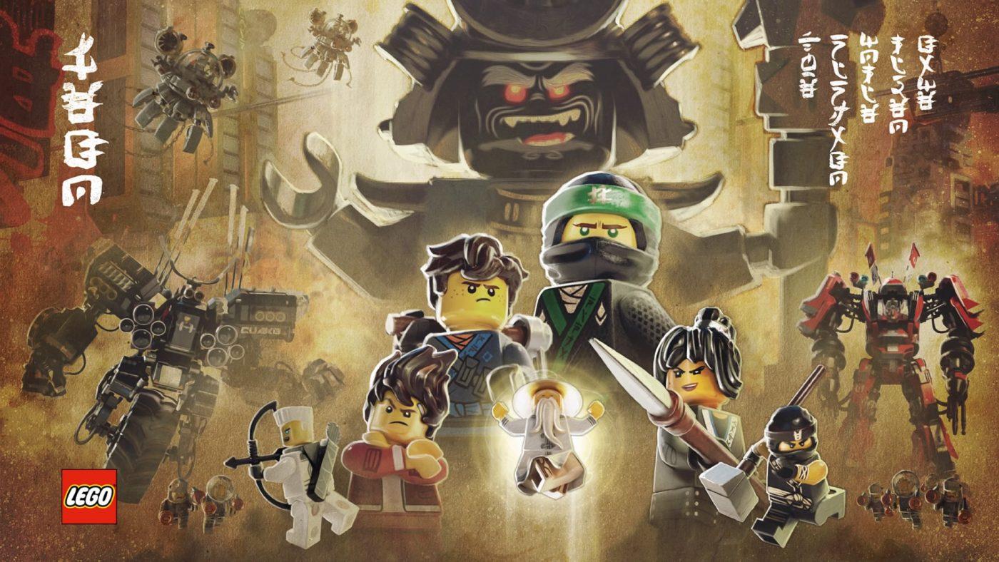 Affiche LEGO NINJAGO Le film : le jeu vidéo