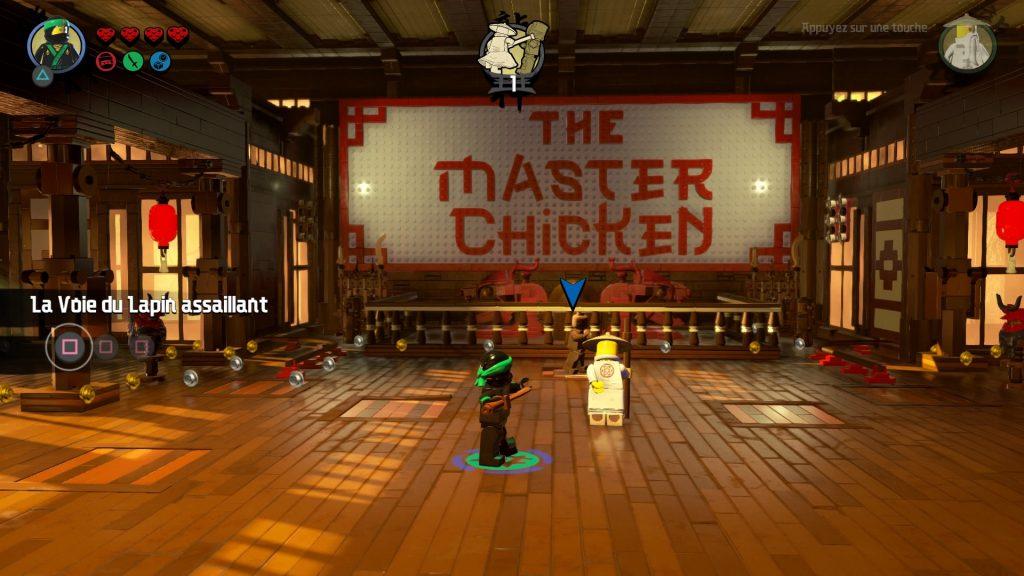 Premier niveau LEGO NINJAGO Le film : le jeu vidéo
