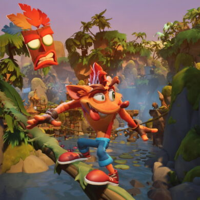 Crash dans Crash Bandicoot 4
