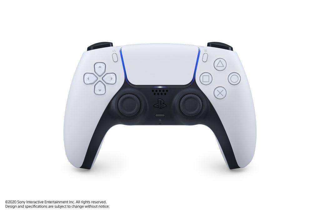 PS5 Photo de la DualSense Wireless Controllers vu du dessus