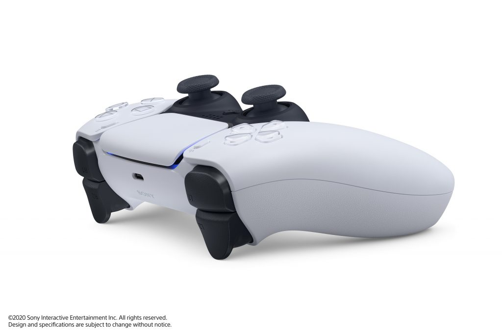 PlayStation 5 photo vu de l'avant DualSense Wireless Controllers
