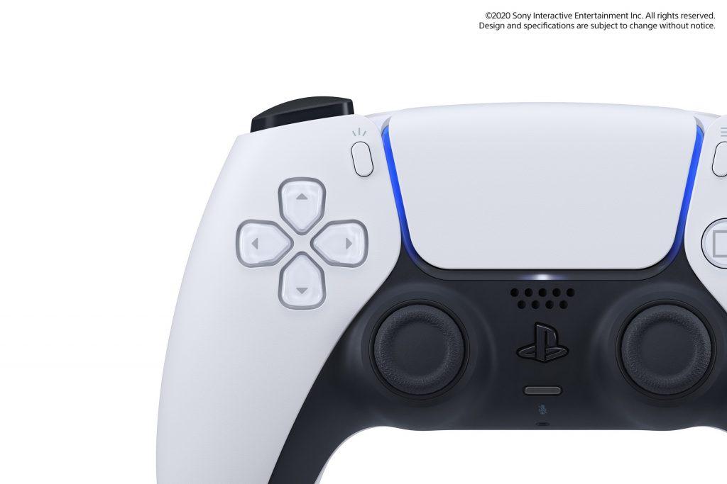 PS5 zoom sur les boutons de la DualSense Wireless Controllers