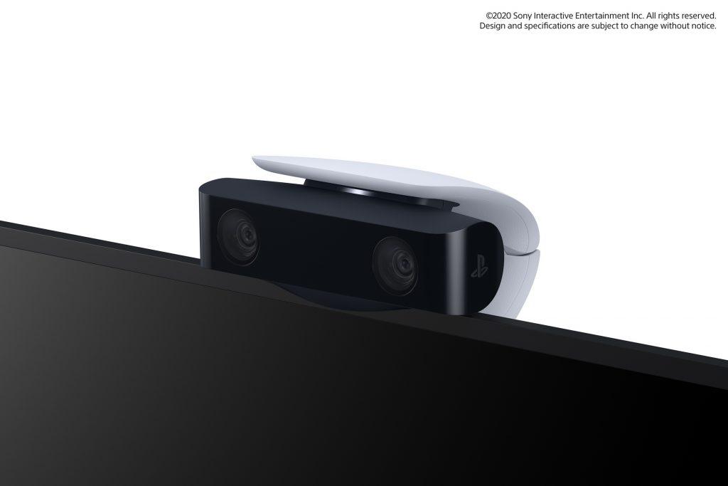 PlayStation 5 HD Camera sur une tv