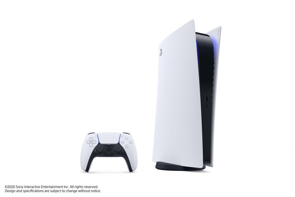 PS5 Digital edition avec sa manette