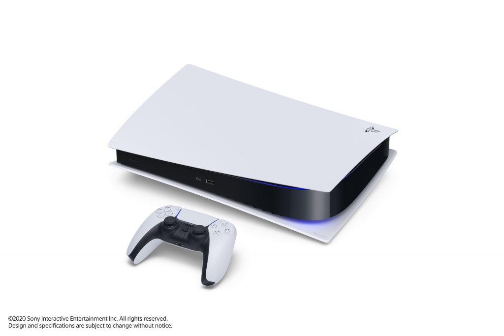 PS5 digital edition couché