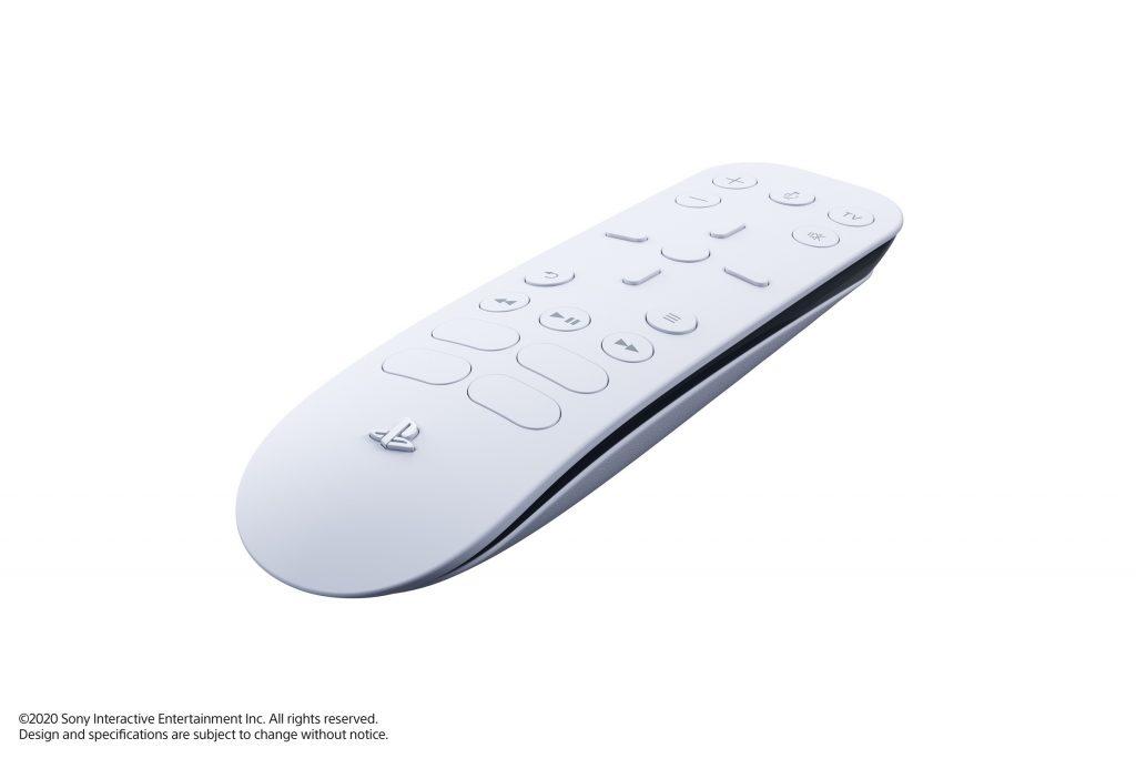 vu de profil de la télécommande de la PlayStation 5