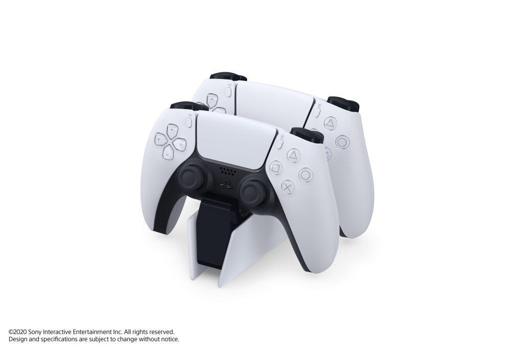 PS5 Le chargeur DualSense Charging Station avec 2 manettes
