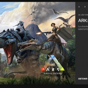 Ark Survival evolved gratuit epic games