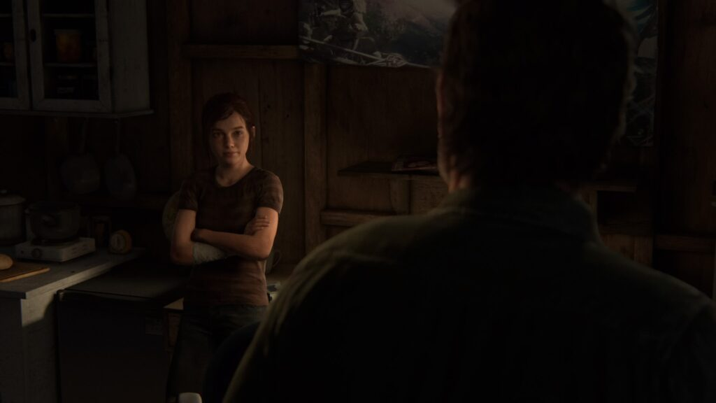 Discussion avec Ellie